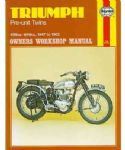 Triumph Pre-Unit Twins - Haynes Manual
